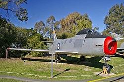 CAC Sabre - RAAF Base Wagga.jpg