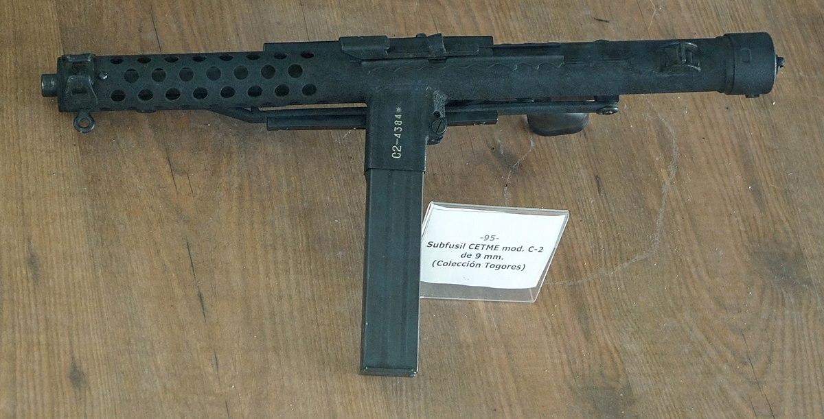 Cetme c2 submachine gun wikidata for Amo manufacturing spain