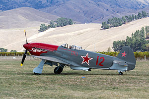Yakovlev Yak-3 - Yakovlev Yak-3M ZK-YYY, at the Classic Fighters 2015 airshow, Blenheim, New Zealand.