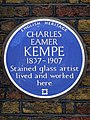 CHARLES EAMER KEMPE 1837-1907 Stained glass artist lived and worked here.jpg