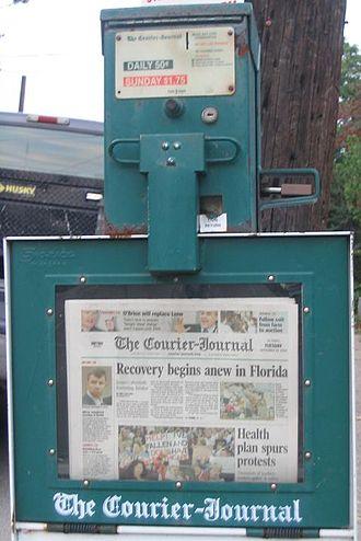 The Courier-Journal - Image: CJ Dispenser
