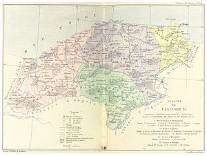 Kastamonu Vilayet - Image: CUINET(1895) 4.418 Vilayet of Kastamonu