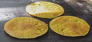 Cachapa - Image: Cachapas from Venezuela