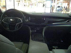 Cadillac CT6 - Cadillac CT6 interior view