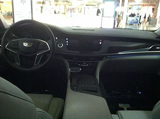 Cadillac CT6 - Cadillac CT6 interior view