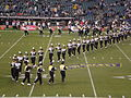 Cal Band performing pregame at 2008 Emerald Bowl 15.JPG