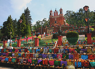 Day of the Dead - Day of the Dead altars in Metepec