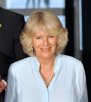 Camilla Parker Bowles during a visit to Brazil