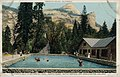 Camp Curry's Swimming Pool, North Dome, Royal ARches and Washington Column, Yosemite Valley (NBY 21958).jpg