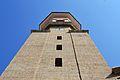 Campanar de l'església de sant Roc de Benicalap des de baix.JPG