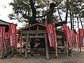 Camphor tree and shrine near Nankun Shrine in Sumiyoshi Grand Shrine.jpg
