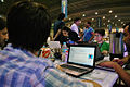 Campus Party México 2013 - Wikimedia México 21.jpg