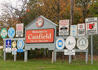 Canfield, Ohio City in Ohio, United States