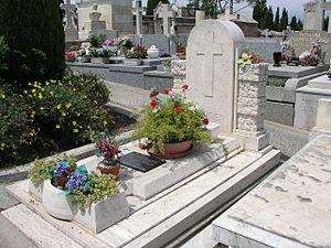 Martine Carol - Martine Carol's grave at the cimetière du Grand Jas in Cannes