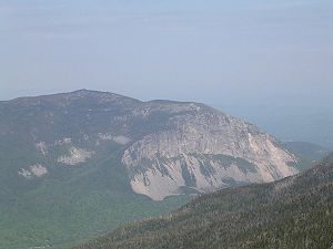 Cannon Mountain (New Hampshire) - Cannon Mountain as viewed from Mount Liberty in June 2005