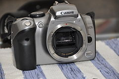 Canon EOS 300D digital SLR camera (body).jpg