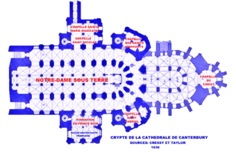 Cath drale de canterbury wikip dia for Interieur en francais