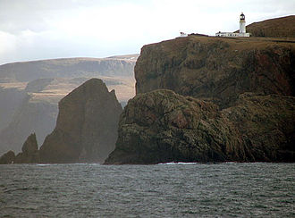 Sutherland - Cape Wrath from the sea
