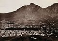 Cape Town, South Africa; part of the city. Woodburytype, 188 Wellcome V0037834.jpg