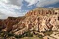 Cappadocia Mount Aktepe Wikimedia Commons.JPG