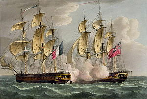 French frigate Résistance (1796) - Image: Capture or Immortalite 217052