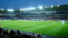 Cardiff City Stadium at dusk.jpg