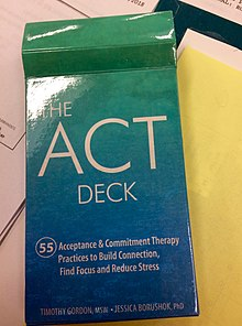 acceptance and commitment therapy wikipedia