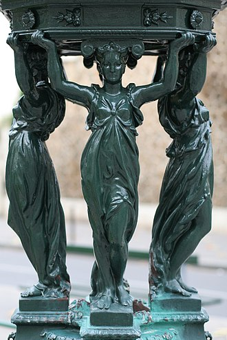 Charles-Auguste Lebourg - Wallace fountain caryatids
