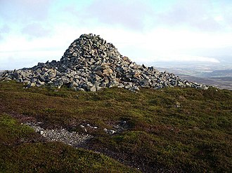 Monzievaird - Carn Chainichin. King Kenneth's Cairn