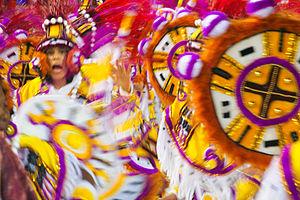 Carnival, in Rio de Janeiro, Brazil, Marquês d...
