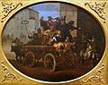 Carnival Procession with a Wagon, by Michelangelo Cerquozzi, Rome, 1640s, oil on canvas - Blanton Museum of Art - Austin, Texas - DSC07848.jpg