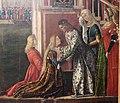 Carpaccio, storie di s.orsola 04, Incontro dei fidanzati e partenza dei pellegrini, 1495, 15.JPG