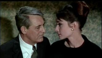 Stanley Donen - Cary Grant and Audrey Hepburn in Charade, Donen's most financially successful film