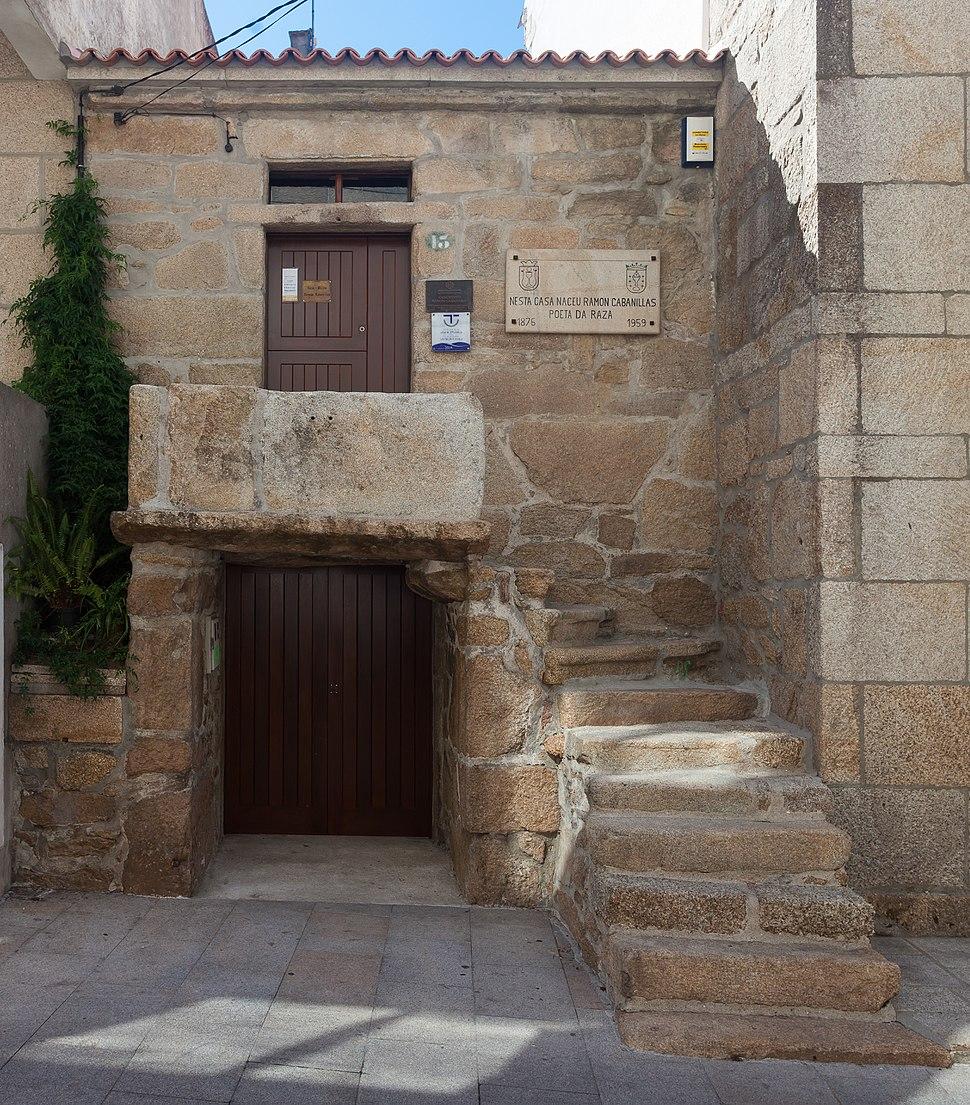 Casa de Ramón Cabanillas en Cambados. Galiza CA05