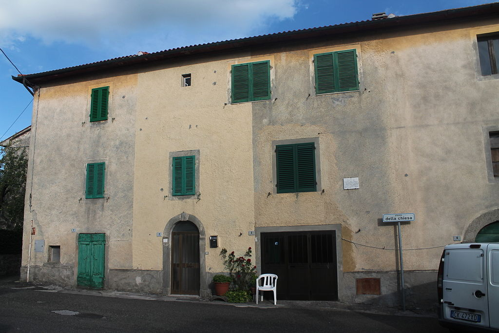Casa dove morì Davide Lazzeretti alle Bagnore