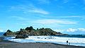 Casas patronales y Parques del Fundo Hualpén, playa.JPG