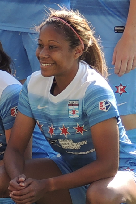 Short in Red Stars starting lineup against Portland Thorns FC on June 12, 2016 Casey Short 2016 (cropped).png