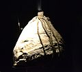 Casquet de pell, segle XIII aC. Mina de sal de Hallstatt.JPG
