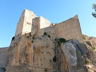 Order of Montesa - Ruins of the castle of Montesa, former parent headquarters of the order