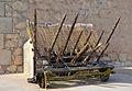 Castell de la santa Bàrbara d'Alacant, palissada.JPG