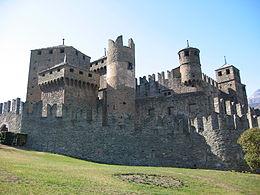 Il castello di Fénis, simbolo della Valle d'Aosta