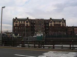 Castle Hill, Bronx - Large apartment buildings