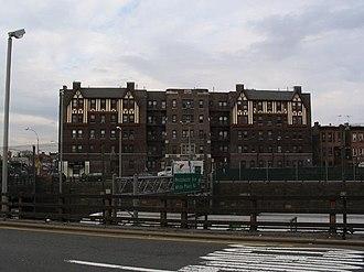 Castle Hill, Bronx - Large apartment buildings