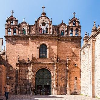 Cusco - Templo de la Sagrada Familia