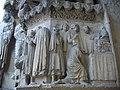 Cathédrale ND de Reims - portail du Jugement Dernier (20).JPG