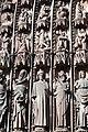 Cathédrale de Strasbourg, façade, détail du tympan.jpg