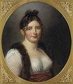 Catharina Charlotta Bågh (1777-1816), gift med friherre Pehr Erik Skjöldebrand (Per Krafft d.y.) - Nationalmuseum - 129569.tif