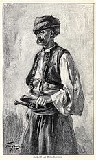 Catholic man from Central Bosnia, 1901