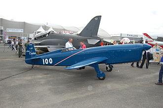 Caudron C.460 - Flying replica of the Caudron C.460 at Paris Air Show 2009.