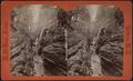 Cavern gorge, Watkins Glen, by Crum, R. D., fl. 1870-1879.png